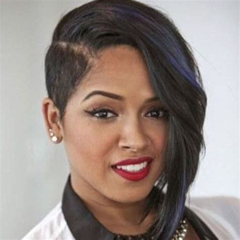 shave hair on one side black woman 50 wicked shaved hairstyles for black women hair motive