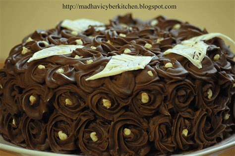 Chocolate Swirl Cake Decoration by Chocolate Swirl Cake