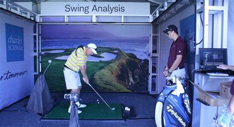 Golftec Swing Analysis the taylormade performance experience on the chions
