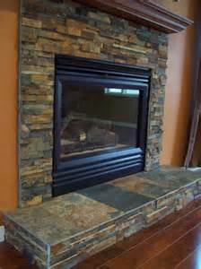 slate tile on fireplace touchdown tile llc a minnesota