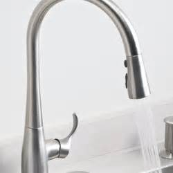 kohler touch kitchen faucet kohler k 596 cp simplice single pull kitchen