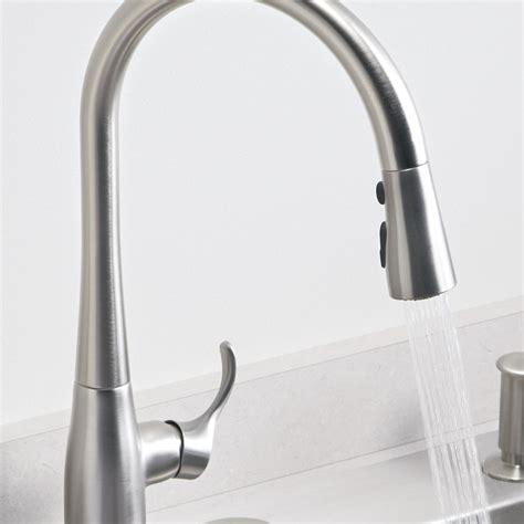 kohler touch kitchen faucet kohler k 647 vs simplice pull kitchen sink faucet