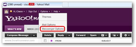 yahoo email history delete yahoo messenger history conversations from email