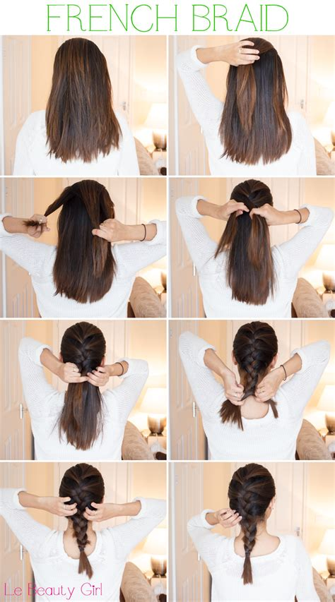 howtododoughnut plait in hair french braid tips for medium short length hair