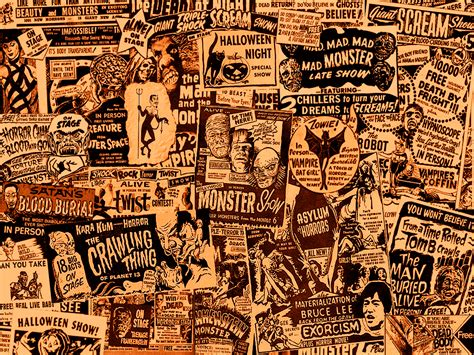wallpaper classic movies spook show posters curiosities and oddities pinterest