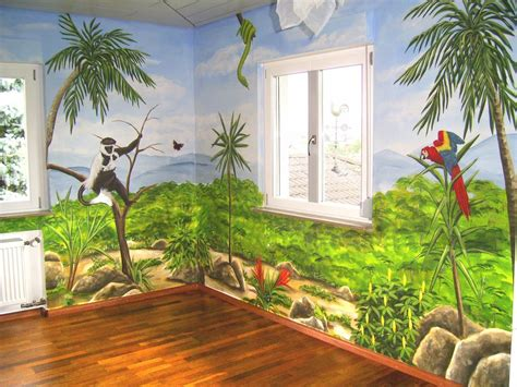 bilder kinderzimmer bild wandmalerei kinderzimmer malerei menschen