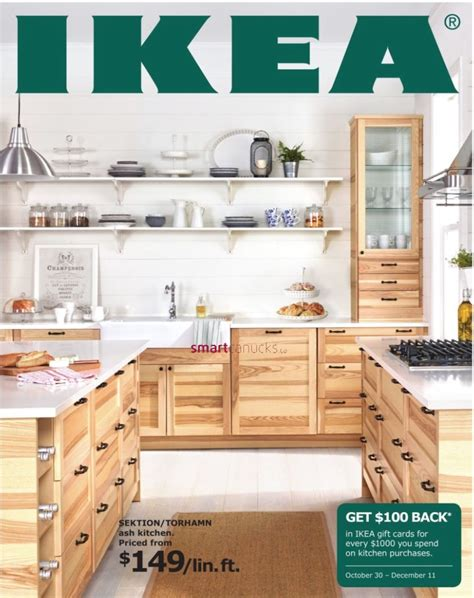 Ikea Gift Card Online Canada - ikea canada kitchen event get 100 back in ikea gift cards for every 1000 you spend