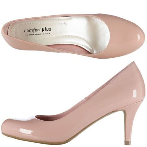 light pink pump heels womens comfort plus by predictions women s karmen pump