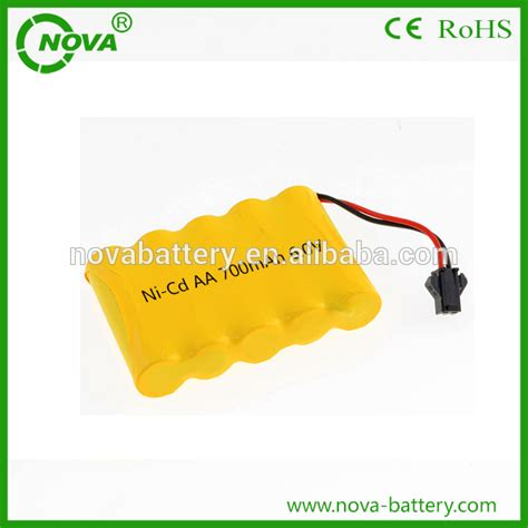 Battery Ni Cd Aa 700mah 3 6v nicd aa 700mah 6 0v rechargeable battery pack buy nicd