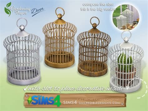sims 4 foyer the sims 4 gardening foyer decor cage large by simcredible