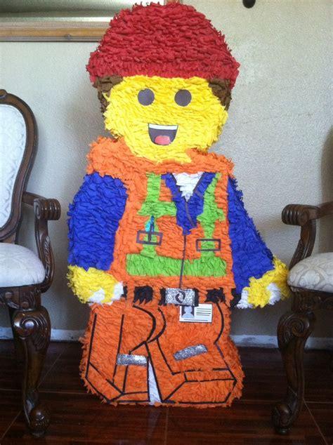 Pinata Lego Emmet By Pinata Dimi lego pi 241 ata decoraciones para fiestas lego