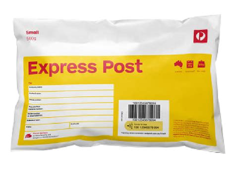 Aus Post Racking by Express Post Small 500g Satchel 10 Pack Australia