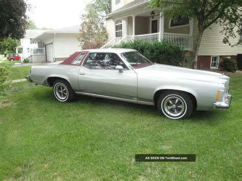 pontiac grand prix 1975 1975 pontiac grand prix lj coupe 2 door 6 6l for 40 years