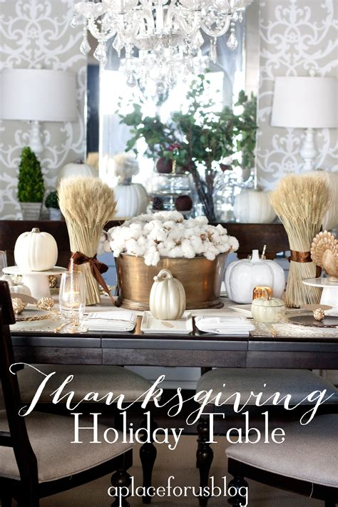 Dining Table Centerpiece Ideas For Everyday by A Golden Holiday Table With West Elm Just Destiny