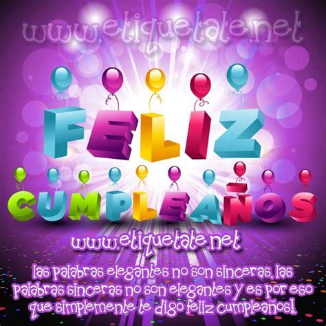 imagenes virtuales de feliz cumpleaños imagenes de feliz cumplea 241 os para facebook