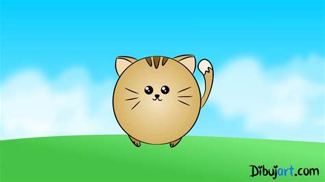 imagenes kawaiis de gatos como dibujar un gato kawaii paso a paso dibujos kawaii