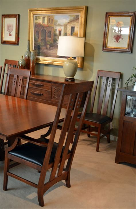 Craftsman Style Dining Room Furniture Mission Style Dining Craftsman Dining Room San Francisco By Flegel S Interior Design