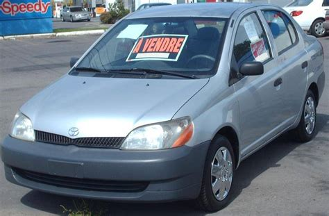 2001 Toyota Echo Base 4dr Sedan 5 Spd Manual W Od