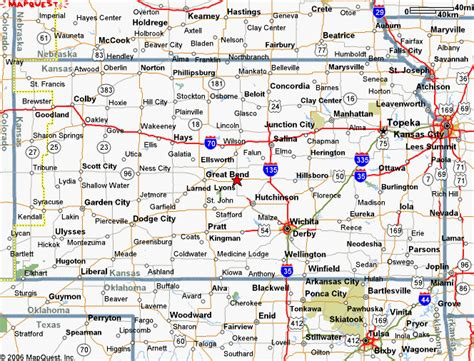 map of kansas cities and towns kansas cgrounds and rv parks