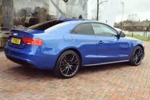 Audi A5 Convertible Blue 2016 Audi A5 Coupe Black Edition Plus In Sepang Blue