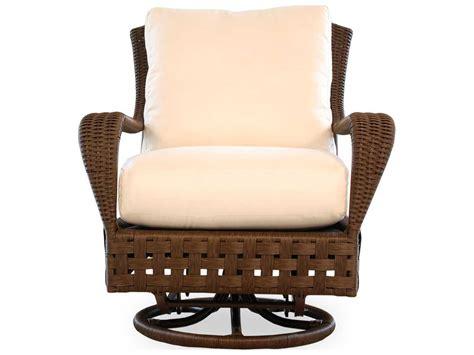 wicker glider chairs lloyd flanders wicker swivel glider lounge chair 43091