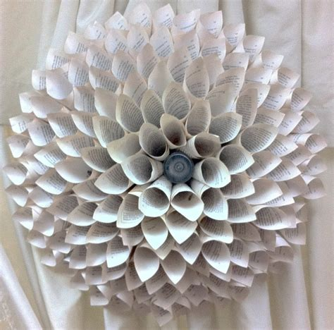 Make Paper Sculpture - the enchanted petal how to make a paper flower medallion