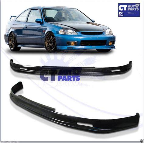 Spare Part Honda Ek mugen style front lip for 99 00 honda civic ek 3d hatch ebay