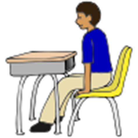 Chair Push Ups by Exercise Pictures For Classroom And Therapy Use