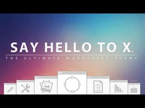 Tutorial Wordpress X Theme | theme x wordpress tutorial