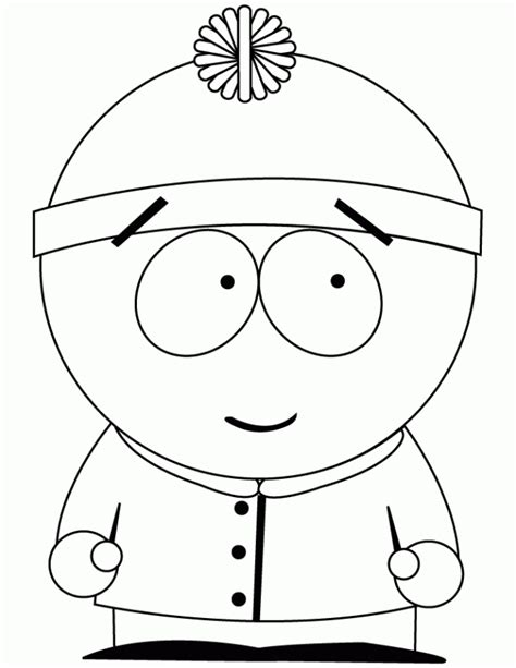 Southpark Coloring Pages Az Coloring Pages South Park Coloring Pages