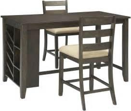 counter height rectangular table rokane light brown rectangular counter height dining table