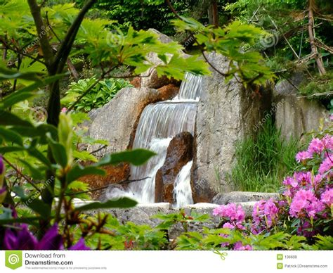 imagenes de jardines con animales cascada fotos de archivo libres de regal 237 as imagen 136608
