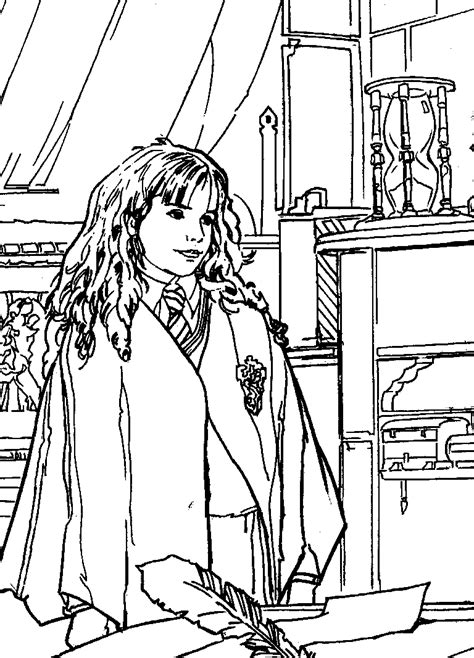 harry potter coloring pages ron free harry ron and hermione coloring pages
