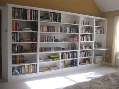how to build bookshelves on wall what your house really needs greenbridge