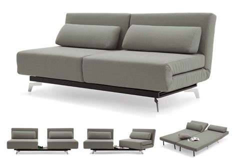 futon sleeper sofa grey modern futon sofabed sleeper apollo futon