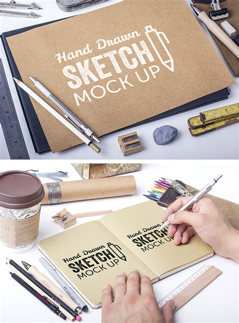 hand tattoo mock up hand drawn sketch mock ups download free mockups by