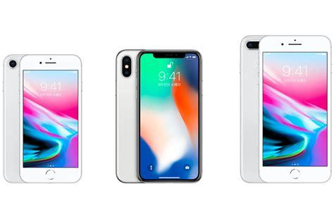 予約開始直前 iphone xとiphone 8 8 plus 最新3モデルのスペックを比較してみました engadget 日本版