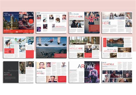 magazine layout design software free magazine layout template 16 free psd vector eps png