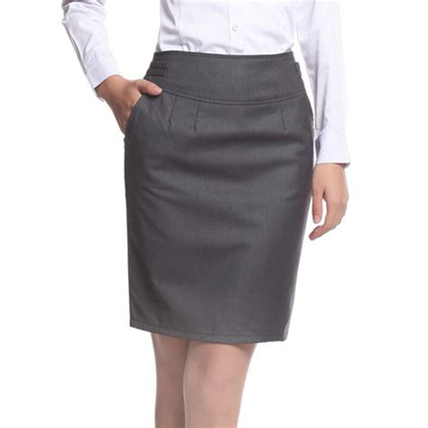 summer career formal skirts