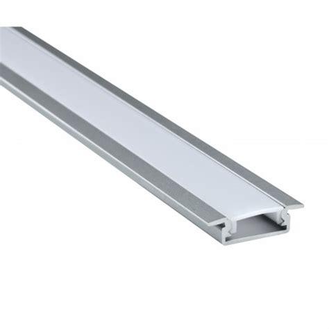recessed led strip lighting deltech aluminium recessed profile for led strip lighting