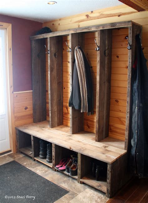 mudroom bench with hooks rustic mudroom shoe storage with bench and coat hooks