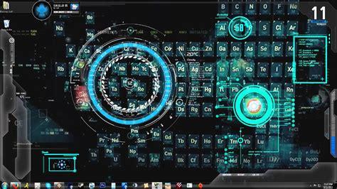 iron man jarvis animated backgrounddesktop youtube