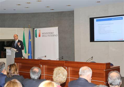 ministero degli interni roma viminale conferenza sui risultati dell azione
