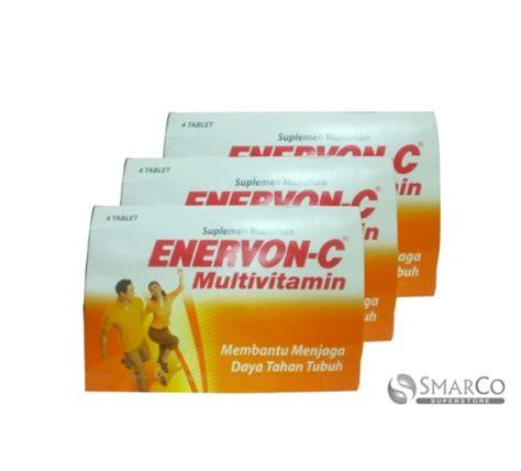 Obat Enervon C detil produk enervon c multivitamin 4 tablet