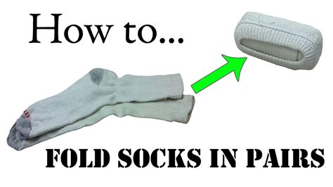 while i fold socks the do s don ts of tattoo aftercare army packing hack how to fold your socks in pairs double