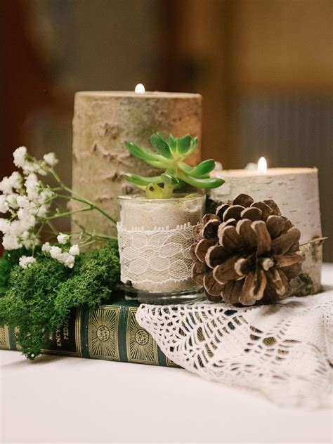 Candle Wedding Centerpieces by Emejing Wedding Centerpieces With Candles And Flowers