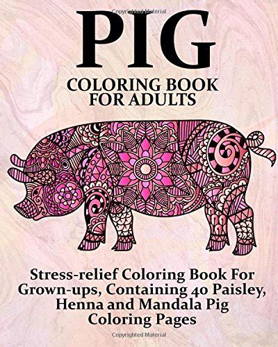 coloring books for adults volume 4 40 stress relieving and relaxing patterns anti stress art therapy series edible confetti pink pigs 2 4 ounce sprinkles amazon com