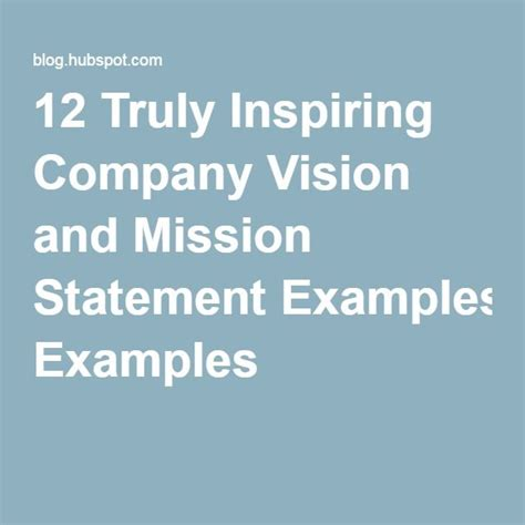 best statements 25 best ideas about vision statement on