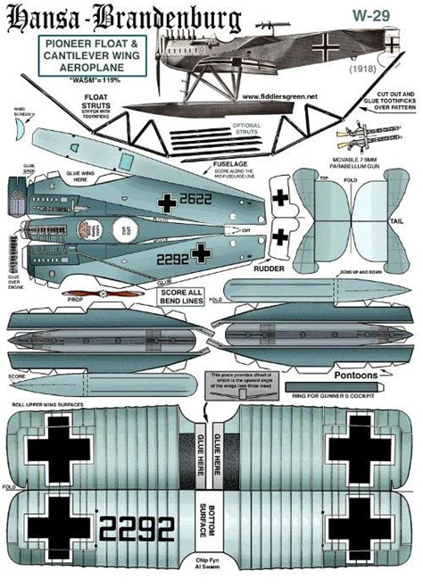 Airplane Papercraft - 106 best images about paper models on