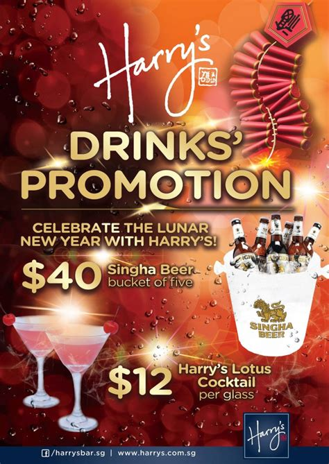 new year deals from singapore harry s bar singha cocktail lunar new year
